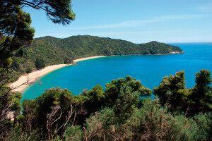 Malerische Bucht im Abel-Tasman-Nationalpark