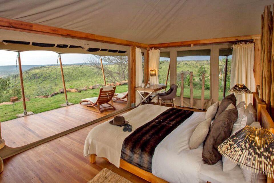 Zimmer im Loisaba Tented Camp
