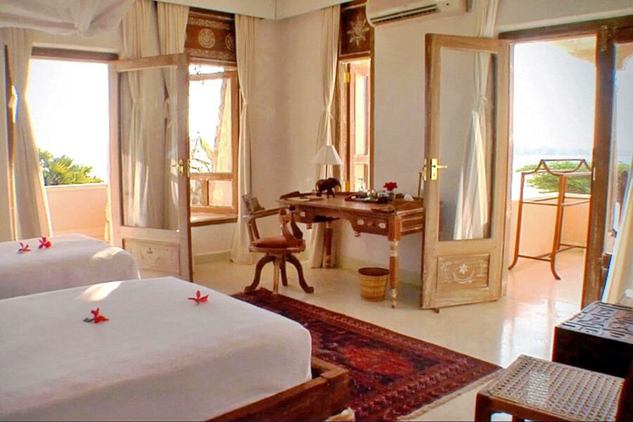 Zimmer im The Majlis Resort auf Lamu Island