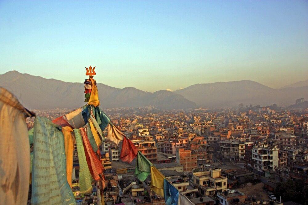 Blick über Kathmandu