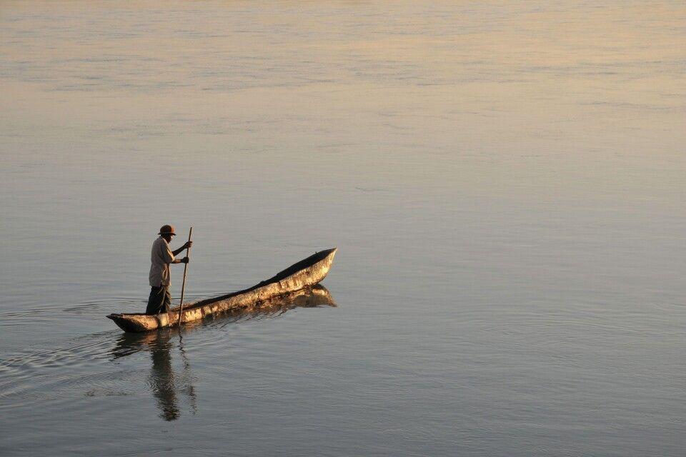 Fischer am Malawisee