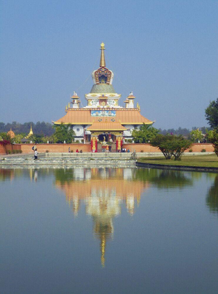 Tempel in Lumbini