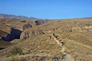 Wanderung oberhalb der Leopardenschlucht