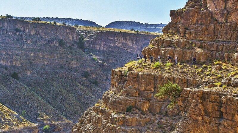 Wanderung oberhalb der Leopardenschlucht © Diamir