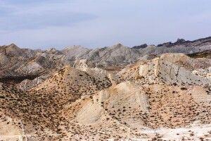 Mondlandschaften im Osten Turkmenistans