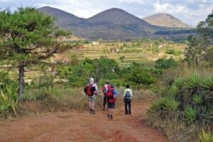 Bergszene auf Madagaskar