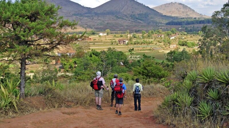 Bergszene auf Madagaskar © Diamir