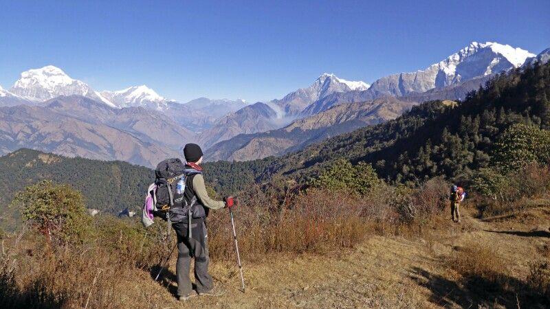 Trek nach Ghorepani © Diamir