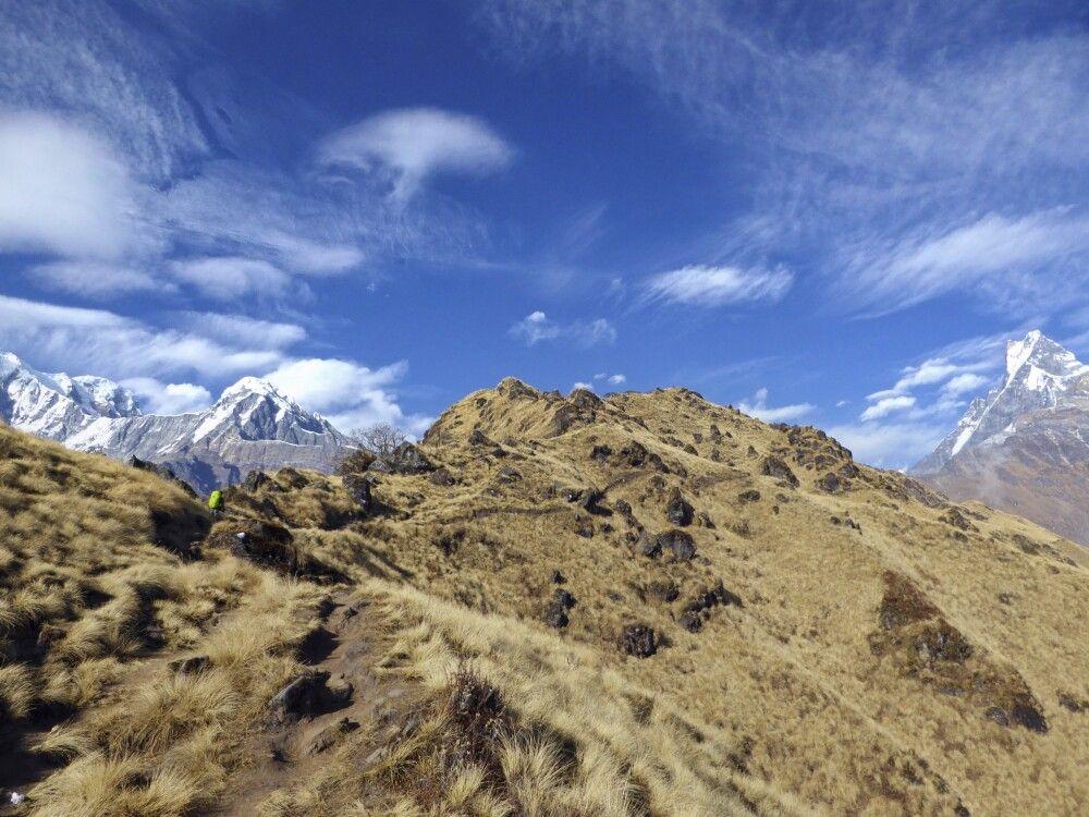 Trek zum High Camp, Mardi Himal Trek