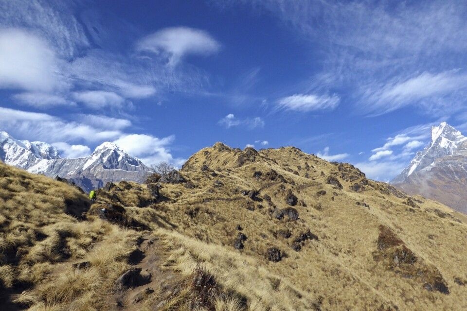 Trek zum High Camp, Mardi Himal Trek