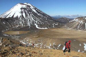 Beim Tongariro Alpine Crossing