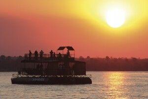 Bootsfahrt auf dem Sambesi