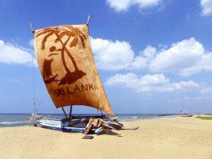 "Auslegerboot - ""Oruwa"" in Negombo"