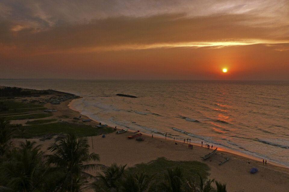 Sonnenuntergang in Negombo