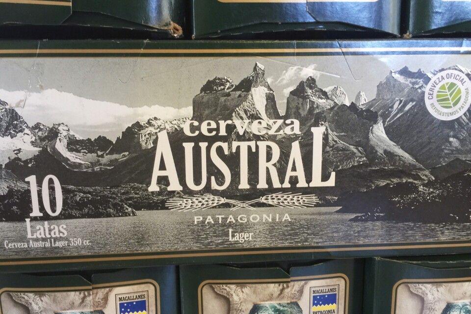 Chhilenisches Bier Austral
