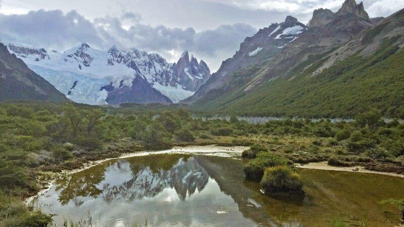 Laguna Torre mit Cerro Torre im Hintergrund © Diamir
