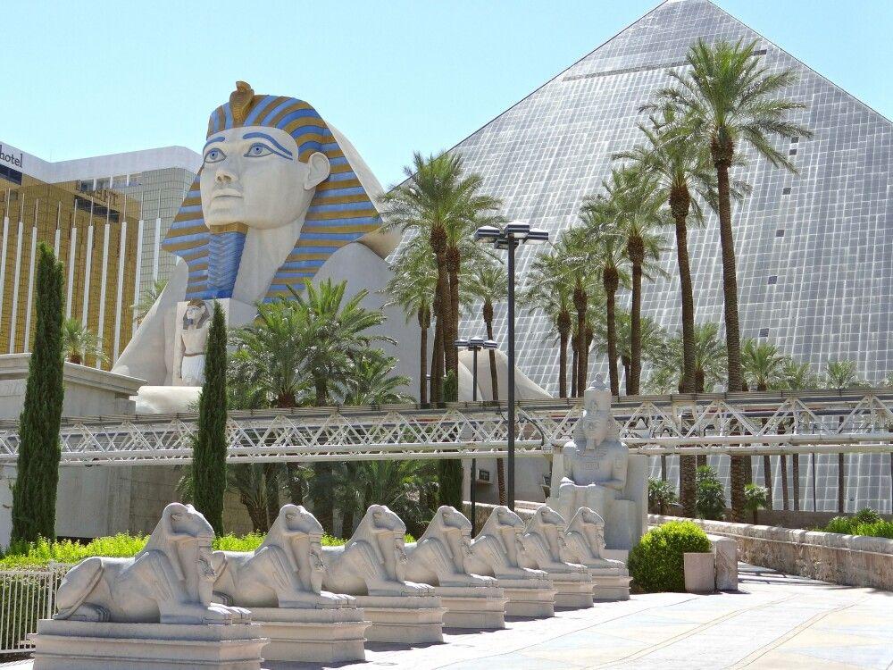Hotel Luxor in Las Vegas