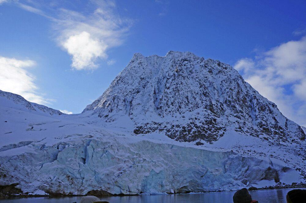 Imposanter Gletscherabbruch