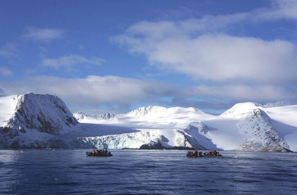 Zodiactour zum Gletscherabbruch