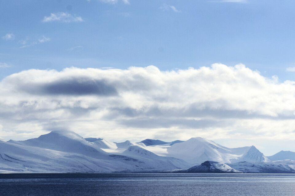 Küstenlinie in Nordspitzbergen