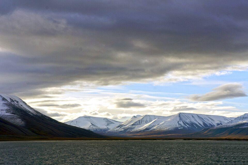 Spätsommerlicht in Spitzbergen