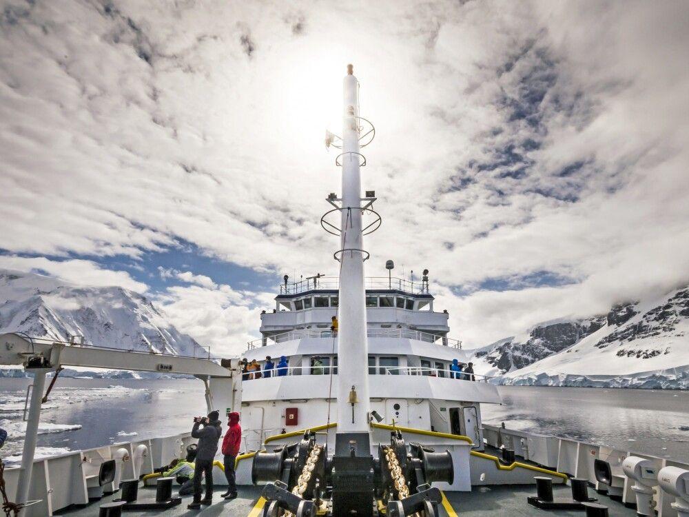 Plancius unterwegs in der Antarktis