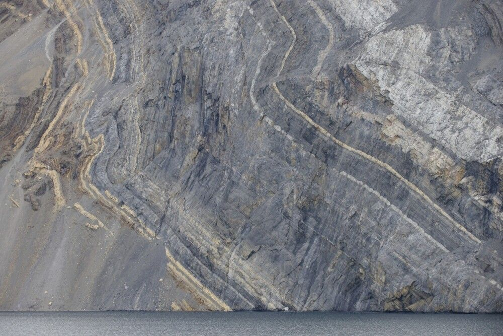 Faszinierendes Gestein – Franz-Josef-Fjord