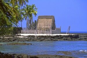 City of Refuge, Big Island, Hawaii