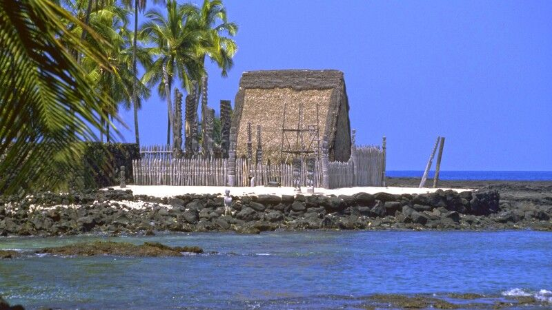 City of Refuge, Big Island, Hawaii © Diamir