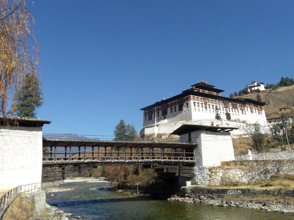 Dzong in Paro
