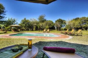 Chobe Savanna Lodge: Pool