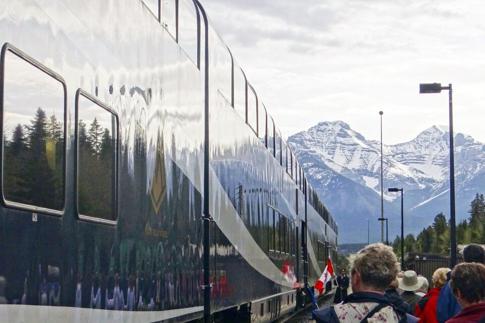 Rocky Mountaineer Station in Banff