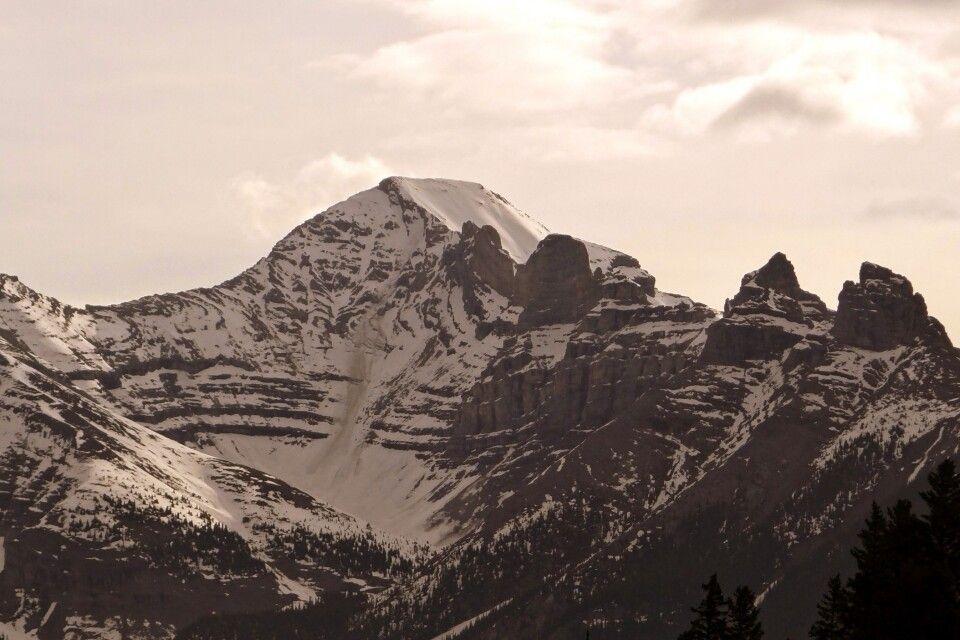 Schneebedeckte Gipfel