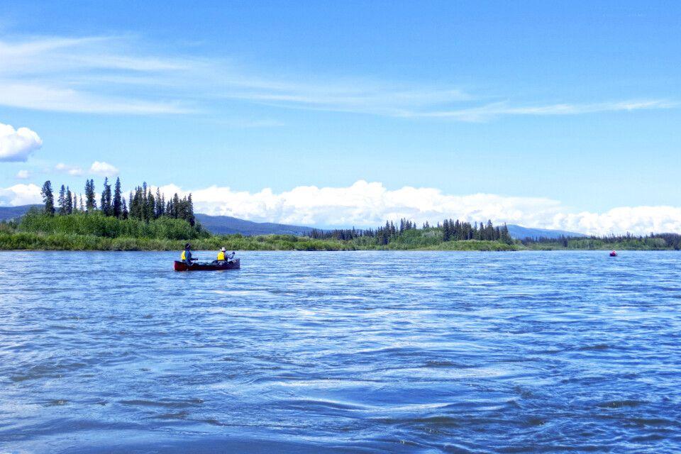 Entlang des weltberühmten Yukon River