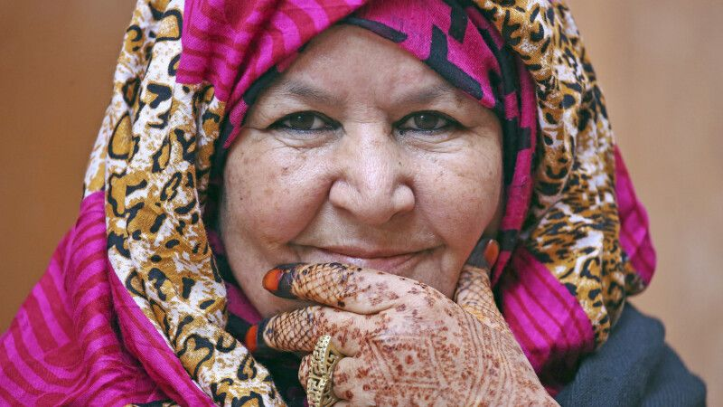 Handschmuck aud Henna © Diamir