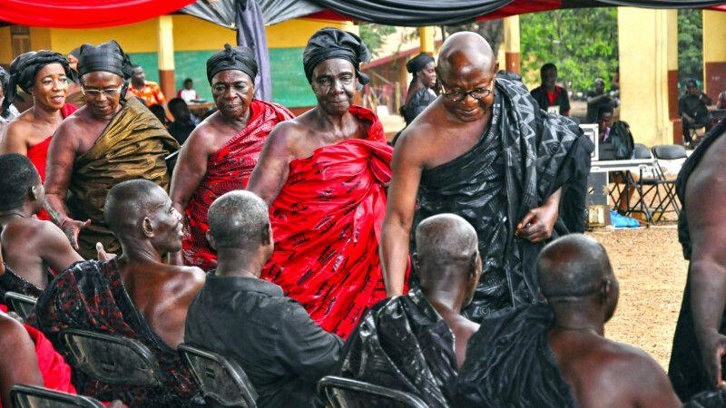 Ashanti Funeral © Diamir