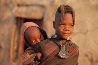Himba Geschwister