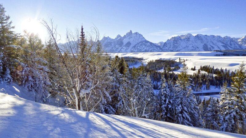 Grand Teton NP in Wyoming © Diamir