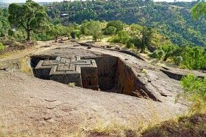 Georgskirche in Lalibela