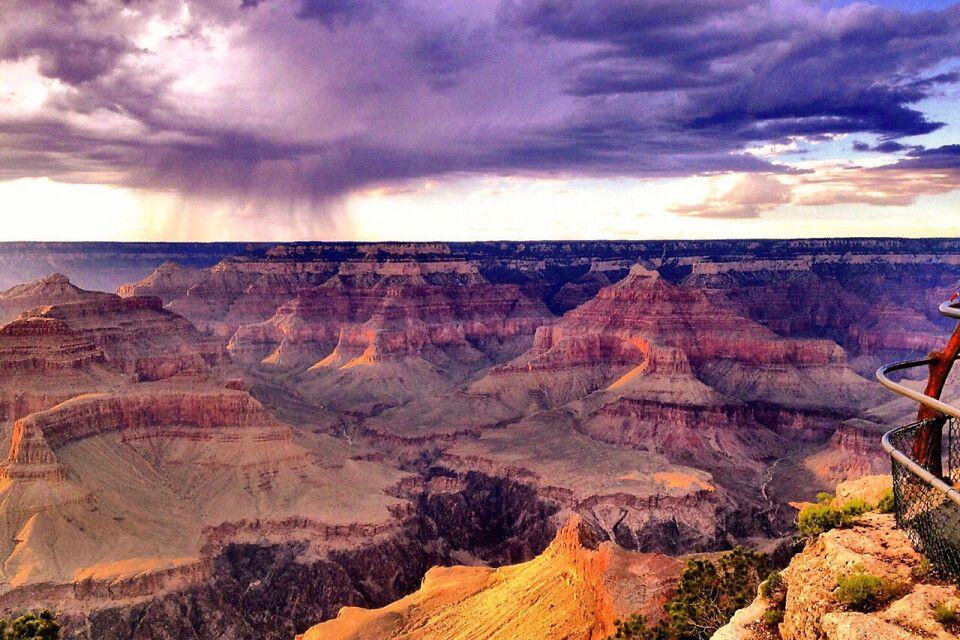Atemberaubende Aussicht über den Grand Canyon