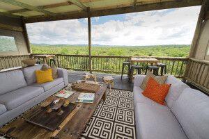 Blick in die Weite von der Zululand Lodge