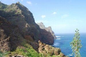 Berglandschaft der Insel Santo Antao