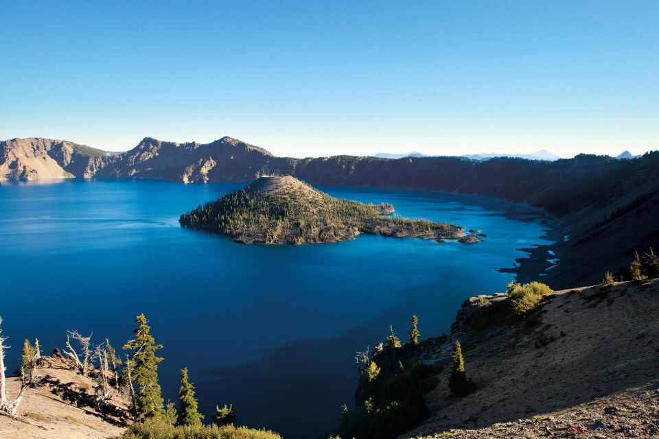 Crater Lake NP in Oregon