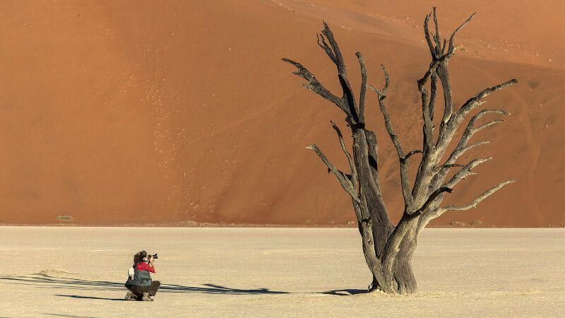 Fotoreise Namibia - im Dead Vlei © Diamir