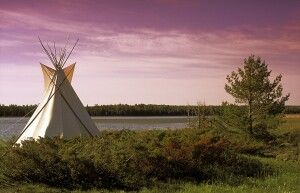 Tipi, Manitoulin Island, Ontario