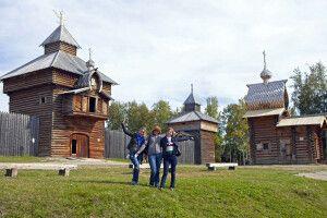 Museumsdorf Talzy nahe dem Baikalsee