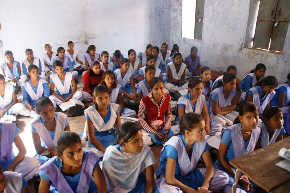 Besuch einer Dorfschule