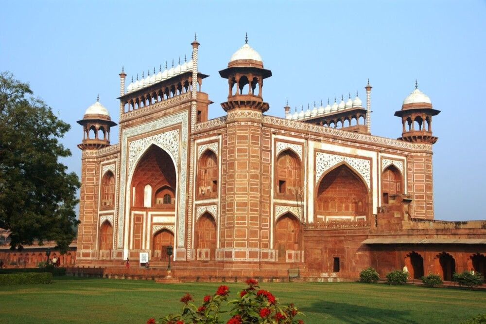 Taj Mahal Eingangsgebäude