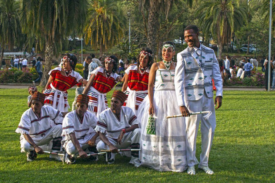 Hochzeit in Äthiopien