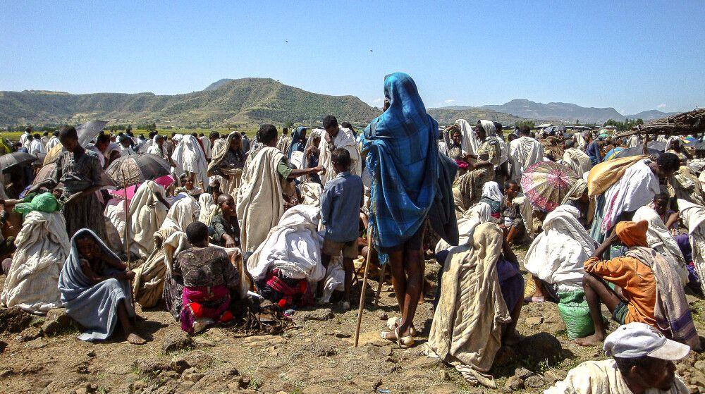 Markttag in Äthiopien